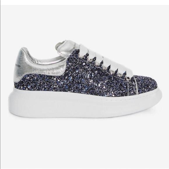 Alexander McQueen Shoes | Blue Glitter